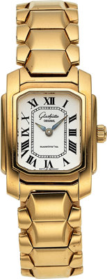 Glasshütte Lady's Gold Watch