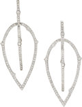 Estate Jewelry:Earrings, Diamond, White Gold Earrings, Stephen Webster . ...