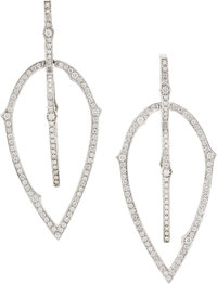 Diamond, White Gold Earrings, Stephen Webster