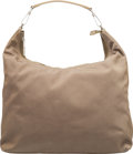 "Luxury Accessories:Bags, Gucci Olive Green Canvas Hobo Bag. Condition: 3. 14"" Width x 11"" Height x 5"" Depth. ..."