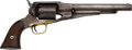 Handguns:Single Action Revolver, Remington Old Model 1861 Army Percussion Revolver.. ...