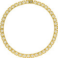 Estate Jewelry:Necklaces, Diamond, Gold Necklace, Buccellati . ...
