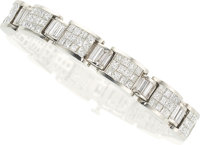 Diamond, White Gold Bracelet