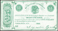 Obsoletes By State:Alabama, Tuscaloosa, AL- Augustin Lynch 25¢ 1866 Remainder Choice About Uncirculated.. ...