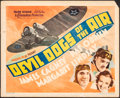 """Movie Posters:Action, Devil Dogs of the Air (Warner Bros., 1935). Fine. Title Lobby Card (11"""" X 14""""). Action.. ..."""
