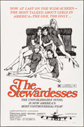 """Movie Posters:Adult, The Stewardesses & Other Lot (Sherpix, 1969). Folded, Fine/Very Fine. One Sheets (2) (27"""" X 41""""). Adult.. ... (Total: 2 Items)"""