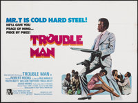 "Trouble Man (Fox-Rank Distribution, 1973). Folded, Fine/Very Fine. British Quad (30"" X 40""). Blaxploitation..."