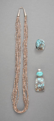 Three Southwest Jewelry Items... (Total: 3 )