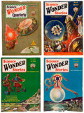 Pulps:Science Fiction, Wonder Stories Box Lot(1920s-30s) Condition: Average VG/FN....
