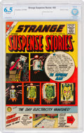 Silver Age (1956-1969):Horror, Strange Suspense Stories #43 Boston Pedigree (Charlton, 1959) CBCS FN+ 6.5 Off-white pages....