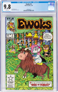 Modern Age (1980-Present):Science Fiction, Ewoks #2 (Marvel, 1985) CGC NM/MT 9.8 White pages....