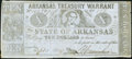 Obsoletes By State:Arkansas, (Little Rock), AR- State of Arkansas $10 Sep. 1, 1864 Cr. 56b Fine.. ...