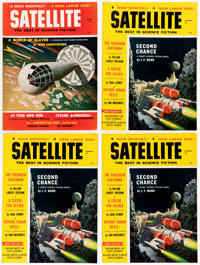 Analog and Satellite Magazine Group of 39 (Street & Smith, 1959-65) Condition: Average VF.... (Total: 39 Items)