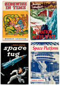 Books:First Editions, Murray Leinster Hardcover Science Fiction First Editions Group of 6 (Various Publishers, 1950-57).... (Total: 6 Items)