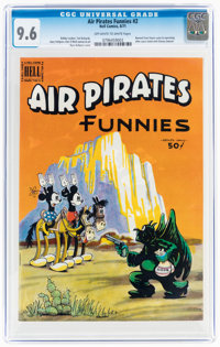Air Pirates Funnies #2 (Hell Comics Group, 1971) CGC NM+ 9.6 Off-white to white pages