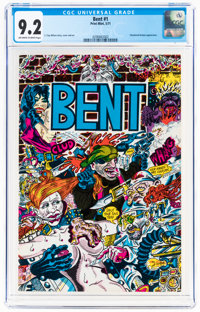 Bent #nn (Print Mint, 1971) CGC NM- 9.2 Off-white to white pages