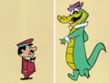 Animation Art:Color Model, Wally Gator and Mr. Twiddle Color Model Cels Group of 2 (Hanna-Barbera, 1962).... (Total: 2 Items)
