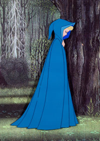 Sleeping Beauty Briar Rose Production Cel (Walt Disney, 1959)