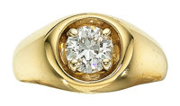 Gentleman's Diamond, Gold Ring