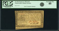 Colonial Notes:Pennsylvania, Pennsylvania March 16, 1785 2s 6d PCGS Extremely Fine 40.. ...