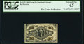 Fractional Currency:Third Issue, A.U. Wyman Courtesy Autograph Fr. 1251 10¢ Third Issue PCGS Extremely Fine 45.. ...