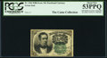 Fractional Currency:Fifth Issue, John Burke Courtesy Autograph Fr. 1264 10¢ Fifth Issue PCGS About New 53PPQ.. ...