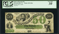Obsoletes By State:Virginia, Howardsville, VA- Bank of Howardsville $50 July 8, 1861 G20a PCGS Very Fine 30.. ...