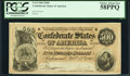 Confederate Notes:1864 Issues, T64 $500 1864 PF-2 Cr. 489 PCGS Choice About New 58PPQ.. ...