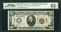 Small Size:World War II Emergency Notes, Fr. 2305 $20 1934A Hawaii Federal Reserve Note. PMG Choice Uncirculated 63 EPQ.. ...