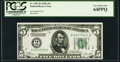 Small Size:Federal Reserve Notes, Fr. 1951-B $5 1928A Federal Reserve Note. PCGS Very Choice New 64PPQ.. ...