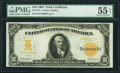Large Size:Gold Certificates, Fr. 1172 $10 1907 Gold Certificate PMG About Uncirculated 55 EPQ.. ...