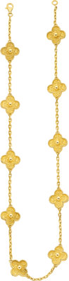 Gold Necklace, Van Cleef & Arpels