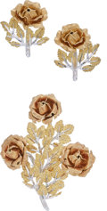 Estate Jewelry:Suites, Gold Jewelry Suite, Buccellati. ... (Total: 2 Items)