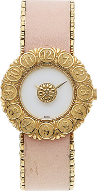 Buccellati Lady's Gold Eliochron Watch