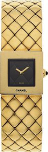 Estate Jewelry:Watches, Chanel Lady's Gold Metalesse Watch. ...