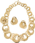 Estate Jewelry:Suites, Gold Jewelry Suite, Cusi. ... (Total: 2 Items)