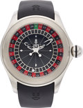 Estate Jewelry:Watches, Corum Gentlemen's Stainless Steel Bubble Roulette Wheel Automatic Watch. ...