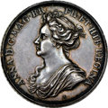 "Great Britain, Great Britain: Anne silver ""British Victories"" Medal 1704 AU58 NGC,..."