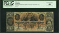 Obsoletes By State:Georgia, Savannah, GA- Planters Bank of the State of Georgia $5 Mar. 1, 1860 PCGS Extremely Fine 40.. ...