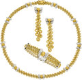 Estate Jewelry:Suites, Gold Jewelry Suite, Gianmaria Buccellati . ... (Total: 3 Items)