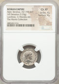 Ancients:Roman Imperial, Sept. Severus (AD 193-211). AR Denarius...