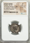 Ancients:Roman Imperial, Hostilian (AD 251). AR Double-Denarius...