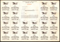 Miscellaneous:Other, War Savings Certificate Series of 1921 Unused Extremely Fine-About Uncirculated.. ...
