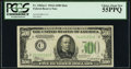 Fr. 2202-C $500 1934A Mule Federal Reserve Note. PCGS Choice About New 55PPQ