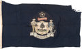 Military & Patriotic:WWII, Maine State Flag.. ...