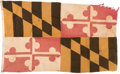 Military & Patriotic:WWII, Maryland State Flag.. ...