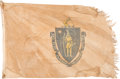 Military & Patriotic:WWII, Massachusetts State Flag.. ...