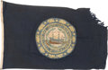 Military & Patriotic:WWII, New Hampshire State Flag.. ...