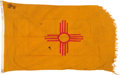Military & Patriotic:WWII, New Mexico State Flag.. ...