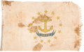 Military & Patriotic:WWII, Rhode Island State Flag.. ...